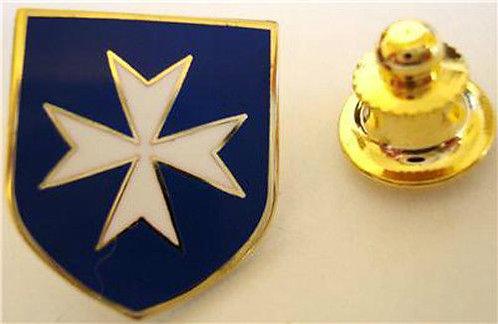 MALTESE CROSS Malta (BLUE) Lapel Pin