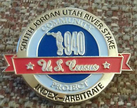 SOUTH JORDAN UTAH RIVER STAKE 1940 CENSUS Pin