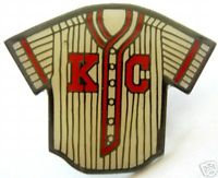 KANSAS CITY MONARCHS 1942 WHITE  JERSEY Lapel Pin