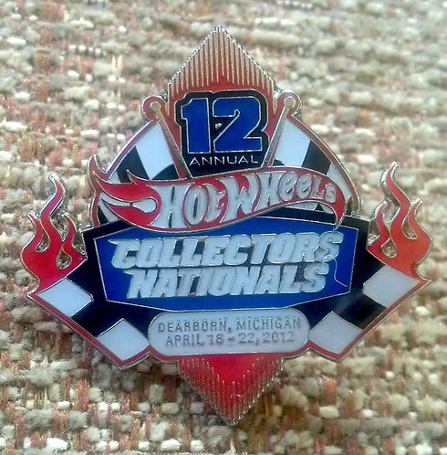 """""""12th Annual Collector's Nationals"""" LAPEL PIN"""