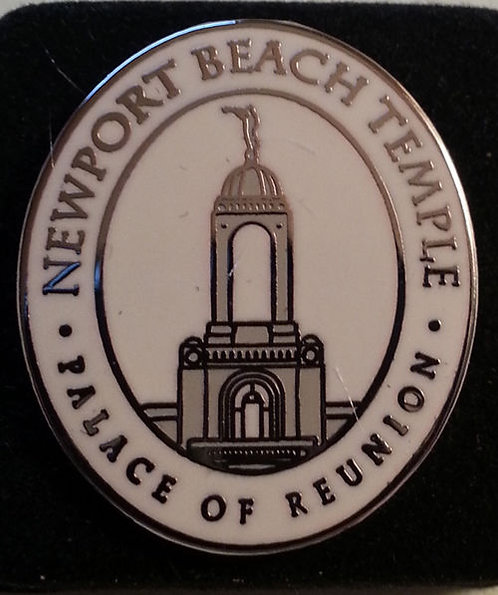 "NEWPORT BEACH TEMPLE ""Palace of Reunion"" Lapel Pin"