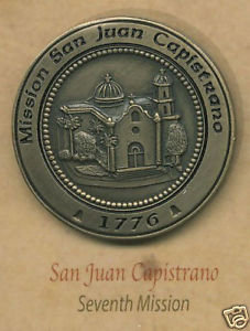 San Juan Capistrano Mission Lapel Pin #7 of 21