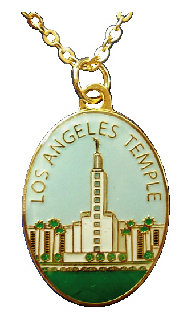 CM-4483-D - Los Angeles Temple Pendant
