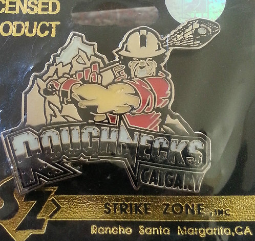 National Lacrosse League Calgary Roughnecks Pin