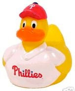 Philadelphia Phillies Rubber Duck