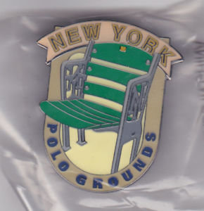 NEW YORK GIANTS POLO GROUNDS Stadium Seat PIN