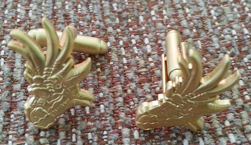 DRAGON HEAD LAPEL Cuff Links