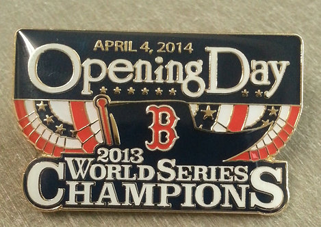 BOSTON RED SOX 2014 OPENING DAY Lapel Pin