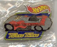 Hot Wheels TWANG THANG Lapel Pin