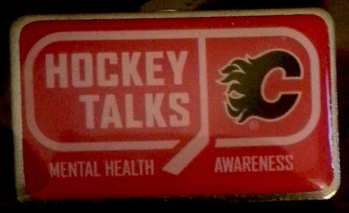 lames Hockey Talks Mental Health Awareness Pin