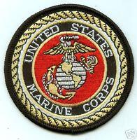 "United States Marine Corps USMC 3"" Round PATCH"