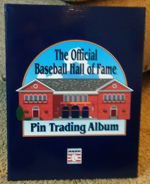 BASEBALL HALL OF FAME Lapel Pin Collectors ALBUM