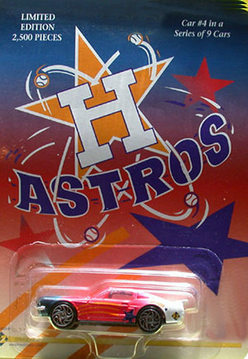 HOUSTON ASTROS #4 in a 9 Car Series - Die Cast Car