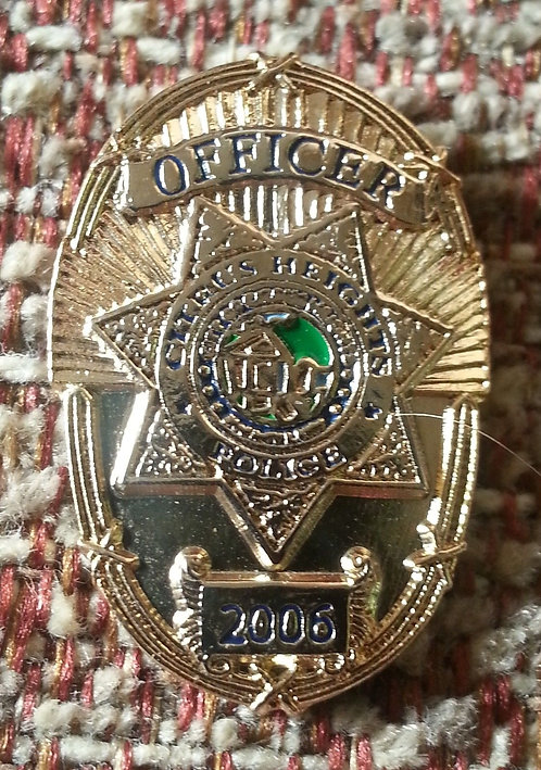 CITRUS HEIGHTS POLICE OFFICER MINI BADGE Lapel Pin