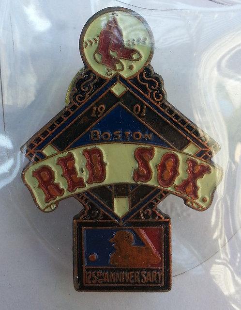 BOSTON RED SOX 125th Anniversary of MLB Pin