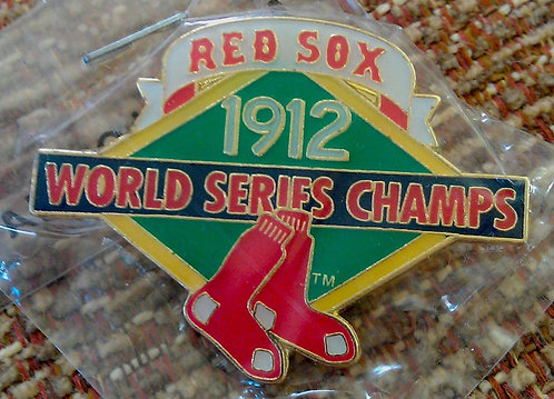 RED SOX FENWAY PARK 1912 WORLD SERIES Lapel Pin