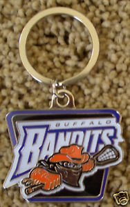 Buffalo BANDITS Primary Logo Key Ring