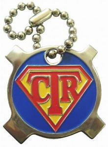 SUPER CTR 4-Way POCKET SCREWDRIVER Key Chain