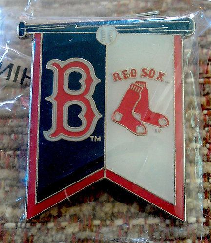 BOSTON RED SOX BANNER Lapel Pin