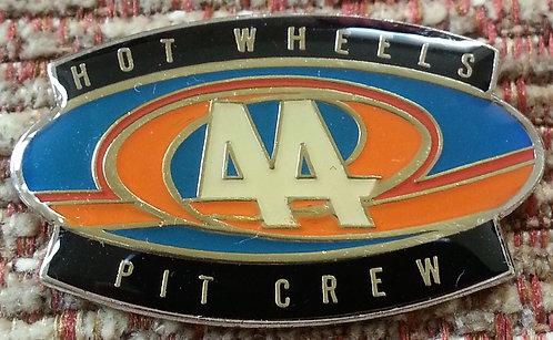Hot Wheels NASCAR #44 / PIT CREW Lapel Pin