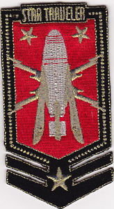 BUCK ROGERS STAR TRAVELER EMBROIDERED PATCH