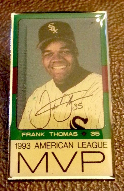 FRANK THOMAS 1993 AL WHITE SOX MVP LAPEL PIN