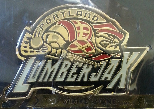 National Lacrosse League PORTLAND LUMBERJAX PIN