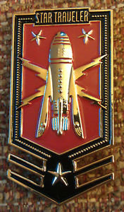 BUCK ROGERS STAR TRAVELER Lapel Pin