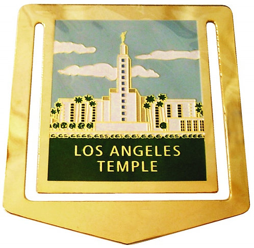 CM-4594 - Los Angeles Temple BRASS BookMark