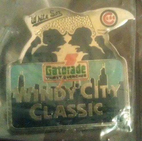WHITE SOX CUBS Windy City Classic, GATORADE PIN