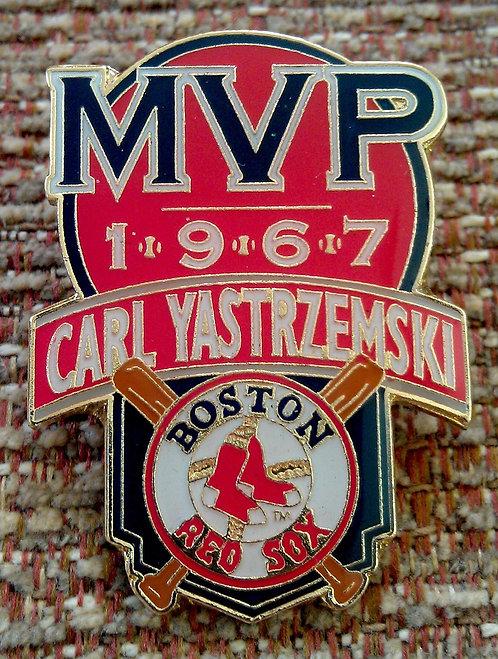 CARL YASTRZEMSKI 1967 MVP Lapel Pin