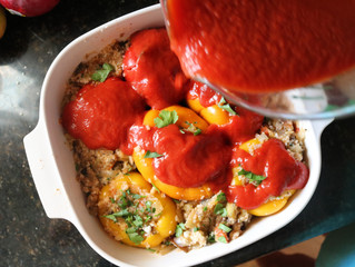 The Best Stuffed Bell Peppers