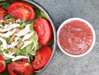 STRAWBERRY Salad Dressing?!