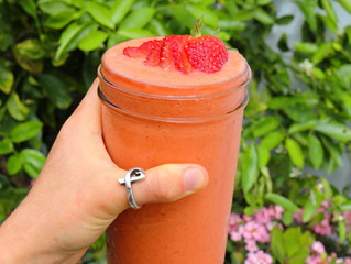 Strawberry Daiquiri Smoothie