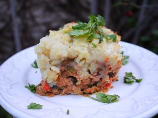 Lentil & Mushroom Shepherd's Pie