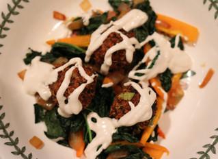 Mushroom Quinoa Meat-less Balls