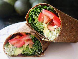 Raw vegan, gluten-free WRAPS!!
