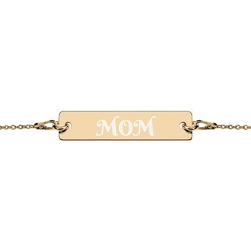 Revenue - Engraved Mom Chain Bracelet