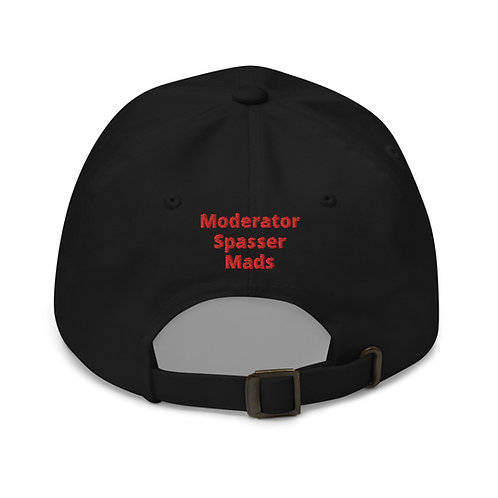 Moderator Spasser Mads - Cap