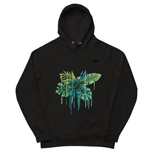 Organic Revenue Flower Pullover Hoodie