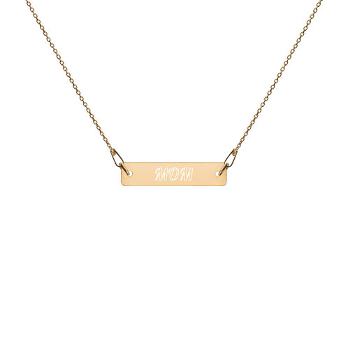 Revenue - Engraved Mom  Chain Necklace