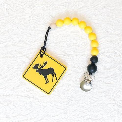 Moose Teether Clip