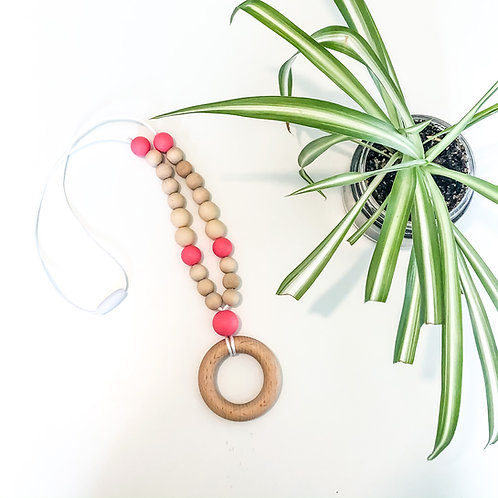 Round Teething Necklace