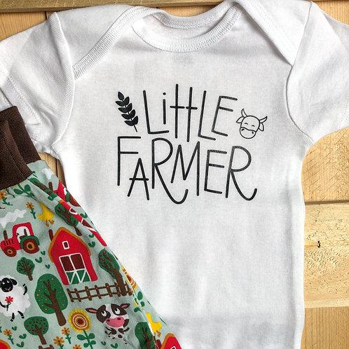 Little Farmer Onesie