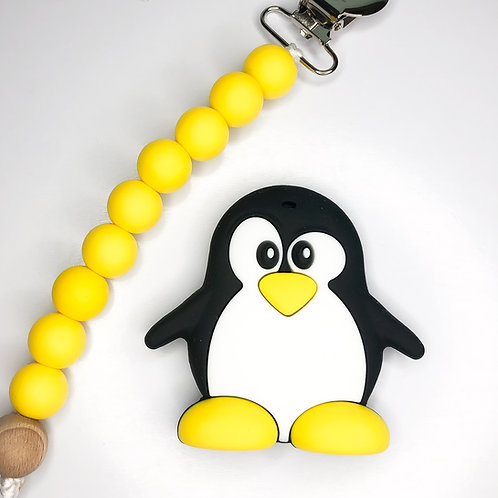 Penguin Teether Clip