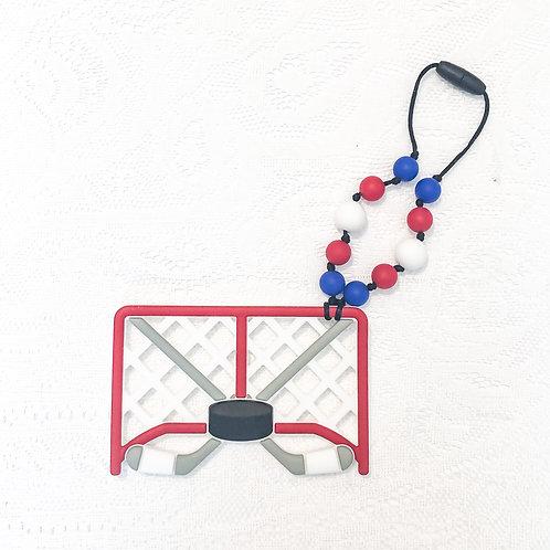 Hockey Net Teether Toy