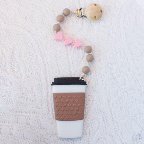 Coffee Teether Clip
