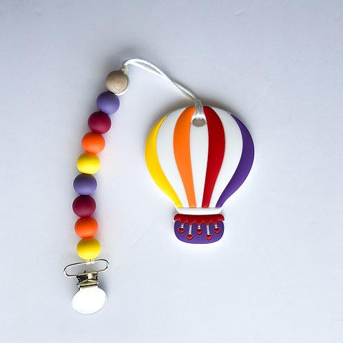Hot Air Balloon Teether Clip