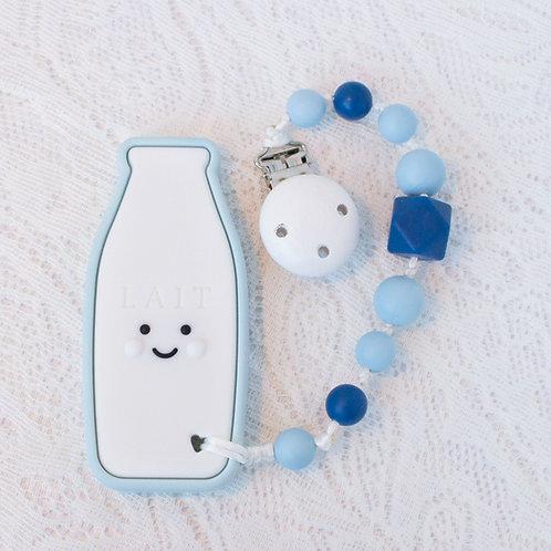 Milk Bottle Teether Clip