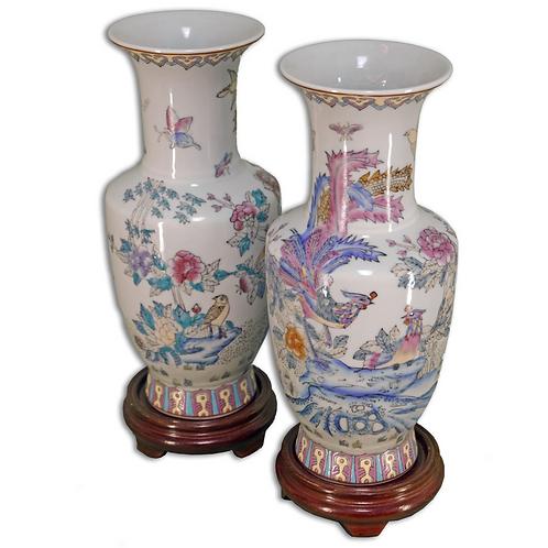 Medium sized Pair of Vases
